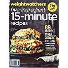 Weight Watchers Five-Ingredient 15-Minute Recipes Magazine Winter 2018 (Spinach Lasagna)