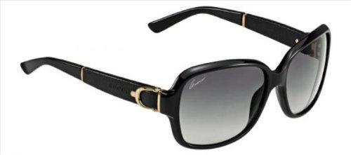 Gucci sunglasses GG 3637 /S 75QVK Acetate Black - Gold Grey Gradient