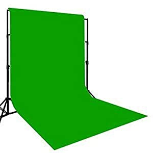 SHOMEX Green Backdrop Background 8x12 Ft for Studio Backdrop - Camera Accessory