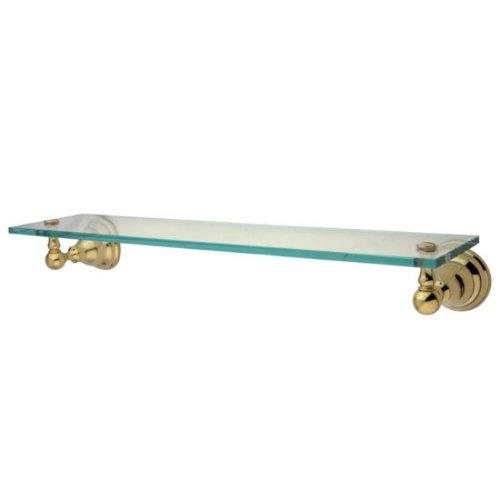 Kingston Brass BA5569PB Royale Glass Shelf, Polished -
