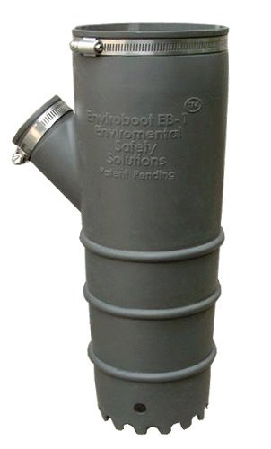 Filtered Dust Collection (Enviroboot EB-1 Demolition Hammer Dust Suppression Accessory)