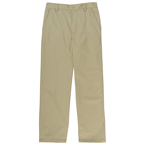 - French Toast Boys Relaxed Fit Pull-on Twill Pant, Khaki 8