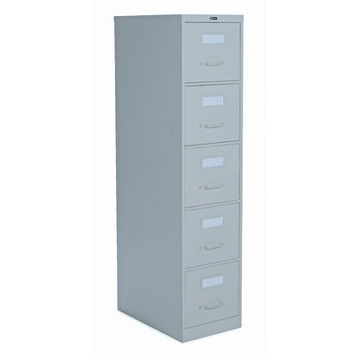2500 Series 5-Drawer File Finish: Light Grey For Sale