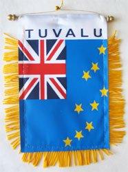 Tuvalu - Window Hanging Flag
