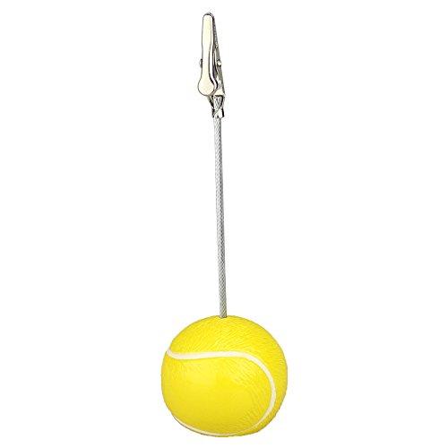 12 Pieces Clip Stand Tennis Ball Memo Clip ()