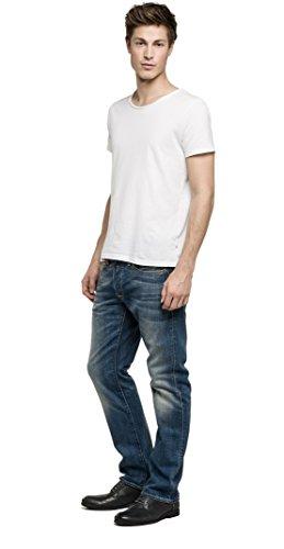 Replay Waitom, Jeans Uomo, Blu (Blue Denim), W34/L30 (Taglia Produttore: 34)