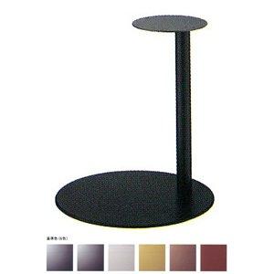 e-kanamono テーブル脚 ライトS7440 ベース440φ パイプ42.7φ 受座280φ 基準色塗装 高さ700mmまで シルバーメタリック B012CF6UR2 シルバーメタリック シルバーメタリック