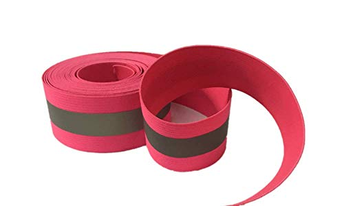 (High Visibility Reflective Fabric Ribbon for Cothing Safety Fabric Gear Webbing Trim Strip 4cm/1.57