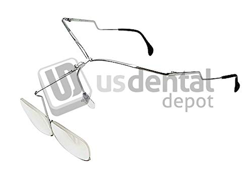 RENFERT - Remberti 1.5X Magnifying Glasses Silver with fold-Back Magnifying Lenses.- # 1262-0001# 12620001 -Weigh only 38 g for Trouble-Free Working. #12620001 23-12620001 Denmed Wholesale