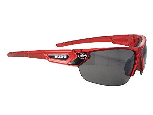 Georgia Bulldogs UGA Red Transparent Sunglasses S12RD