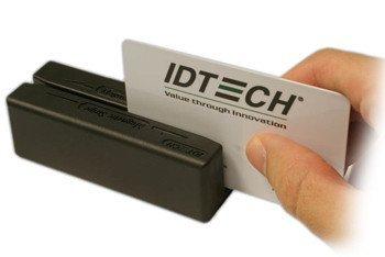 ID TECH MiniMag II IDMB Magnetic Stripe Reader - Triple Track - 60 in/s - USB - Black by Id Tech (Image #1)
