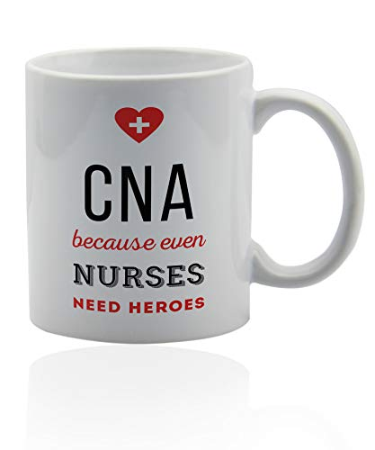 Cna Gifts For Women 11 oz. white ceramic cup. ()