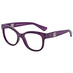 Dolce & Gabbana DG5010 Eyeglasses-2677 Matte Opal Violet-52mm