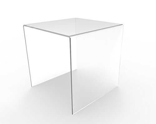 FixtureDisplays Set of 3 Clear Acrylic Display Riser (5