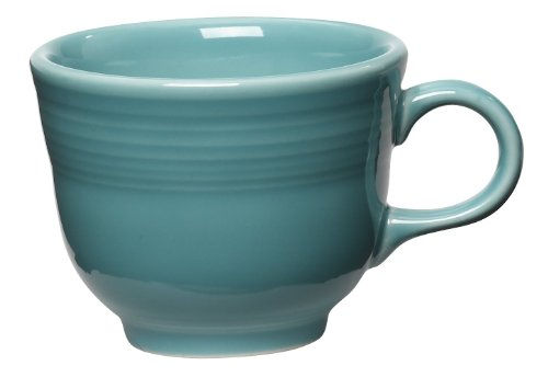 Fiesta 7-3/4-Ounce Cup, Turquoise (Turquoise Coffee Cup)