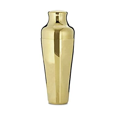 Cocktail Shaker 550 ML by Kotai (Gold)