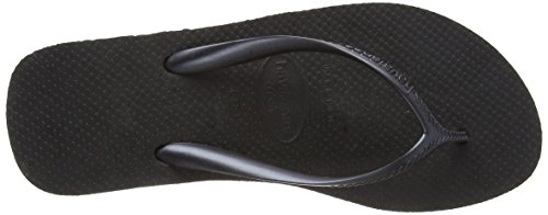 Havaianas Zehentrenner Damen High Fashion Schwarz (Black)
