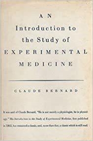 Book An Introduction to the study of Experimental Medicine