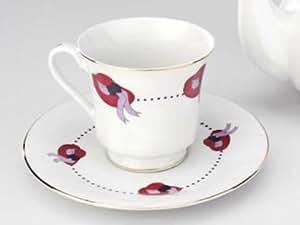48 Bulk Discount Red Hat Tea Cups Teacups