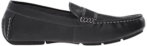 Rapport Mens Maratt Slip-on Loafer Zwart