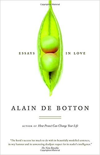 Amazon com essays in love 9780771026065 alain de botton books