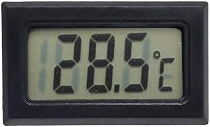 BWYFGRT Urijk Tragbares digitales Temperatur-Feuchtigkeitsmessgerät -1-2 Indoor Outdoor Hygrometer Thermometer Wetterstation mit Uhr