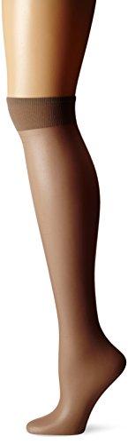 Berkshire Pantyhose Sheer (Berkshire Women's Plus-Size Queen Ultra Sheer Sandalfoot Pantyhose, French Coffee, 10-13)