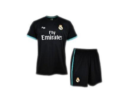 Box Set 2 equipacion Real Madrid Replica ufficiale 2017 - 2018-ronaldo n. 7 - Taglia 6 anni Roger' s