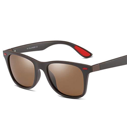 polarizadas Gafas para KOMNY 100 UV Hombre Marca A conducen Que Moda Sol Gafas Gafas Marco Oculos C Cuadrado para de de de Sol protección Mujeres tOU8qxwO