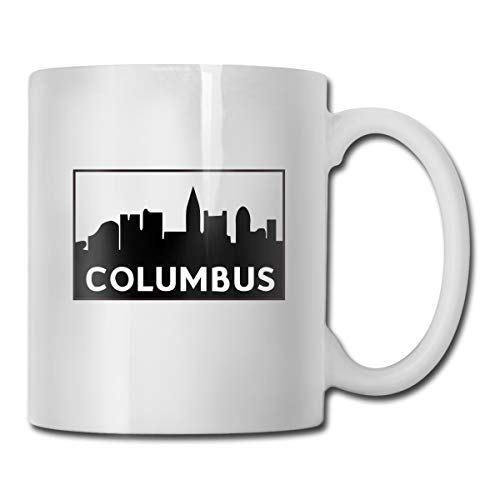 Columbus City Skyline Sketch Architecture Coffee Mug Drinks