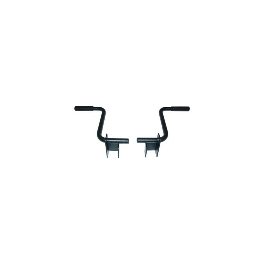 "Valor Fitness MB A Dip Handle Accessory Set for BD 7 and BD 33 (fits 2"" tubing)"