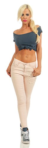 Fashion4Young Jeans - Jeans - Femme Rose