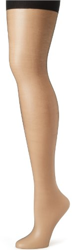 (Hanes Silk Reflections Women's Absolutely Ultra Sheer Control Top With Toe, Jet,)