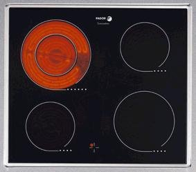 Fagor 2VFP-320 X - Placa (Mesa, indución eléctrica, Cerámico ...