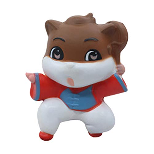 SANNYSIS Stress Reliever Simulated Kung Fu Cat Scented Slow Rising Kids Squeezable Toy from Sannysis