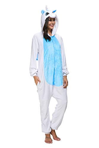 Adult Pajamas Unisex Sleepsuit Animal Sleepwear Jumpsuit Halloween Cosplay Costume ()
