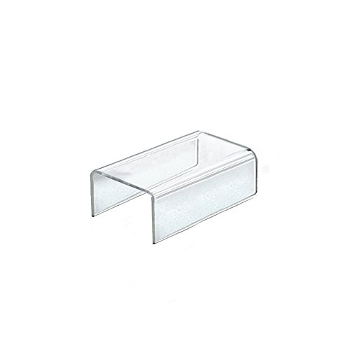 Box of 4 New Retails Clear Acrylic Riser Display 5.5''W x 4''D x 2''H