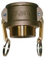 """CAM,TYPE B, BRASS 3/4"""" B75BR By Best Price Square"""