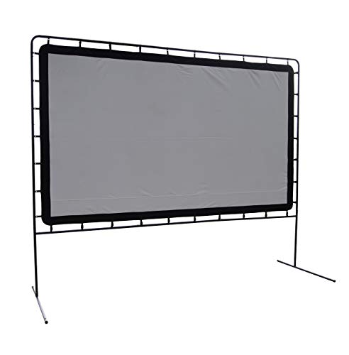 Camp Chef OS144 Indoor or Outdoor Giant Movie Screen Movie Night, White (Renewed)