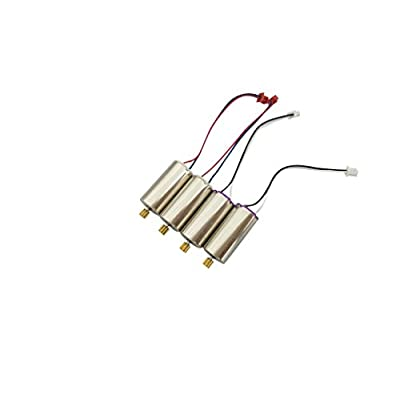 sea jump 4PCS Motor for UDI U818A Plus U49W U49C AA818 D58 Quadcopter Spare Parts Drone Forward Rotation Motor: Toys & Games
