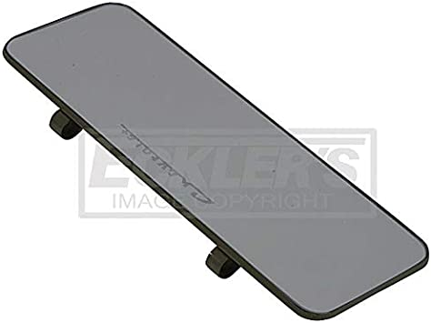 Corvette Sunvisor Right Black With Lighted Vanity Mirror Ecklers Premier Quality Products 25-155979