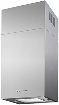 HBH – Campana extractora de cocina rectangular inoxidable 60 cm 580 M3/H chimenea extensible: Amazon.es: Hogar