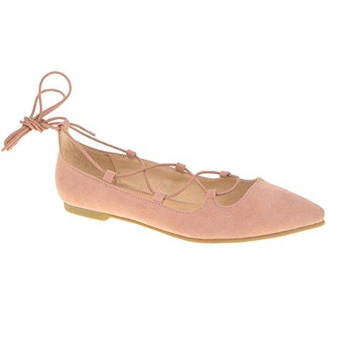 Chinese Laundry Women's Endless Summer Ballet Flat, Rose Suede, 5.5 M (Summer Ballerina)