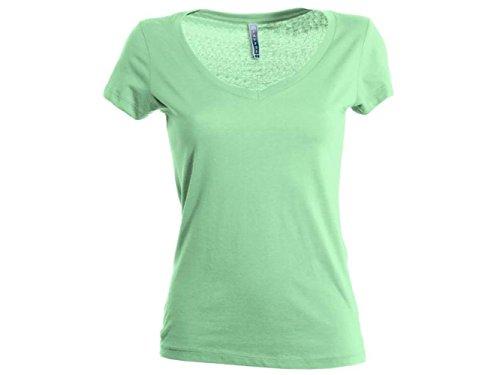 ATELIER DEL RICAMO - Camisa deportiva - para mujer verde manzana
