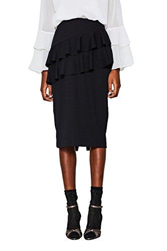 ESPRIT Collection, Jupe Femme Noir (Black 001)