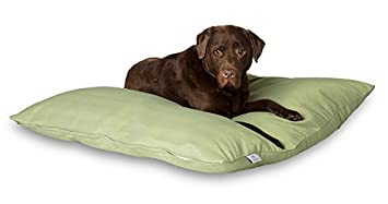 Darling Little Place Cama para Perros, 110 x 110 cm, Grass Solid