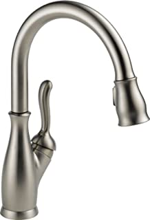 Delta Faucet Leland Single-Handle Kitchen Sink Faucet with Pull Down Sprayer, ShieldSpray Technology and Magnetic Docking Spray Head, Stainless 9178-SS-DST (B0040YXMYS)   Amazon price tracker / tracking, Amazon price history charts, Amazon price watches, Amazon price drop alerts