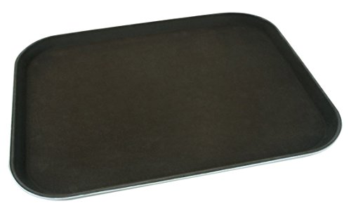 Supreminox 2707 Rectangular Non-Slip Fibreglass Tray, 45 X 65 cm, - Fiberglass Rectangular Brown