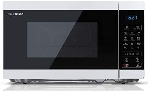 Opinión sobre Microondas SHARP YC-MG02EW Color Blanco, 20L, 800W