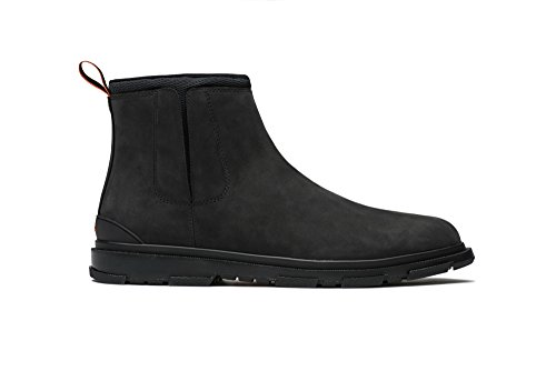 SWIMS Storm Chelsea Boot, Black Petrol, 10 by SWIMS